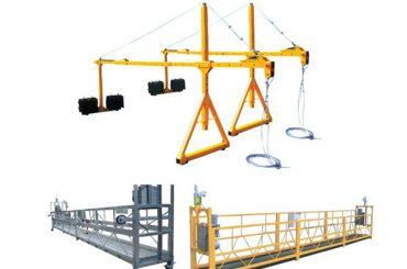 2 * 2,5 m aluminijska električna užad suspendirana platforma s motorom snage 1,5kw
