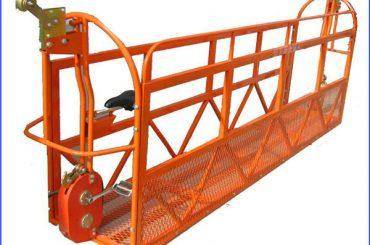 1000 kg 7,5 mx 3 sekcije Aluminijska legura suspendirana radna platforma ZLP1000