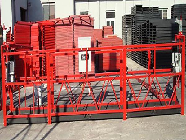 Sustav za čišćenje zgrade Suspendirana radna platforma Zlp800 s opterećenjem od 800 kg