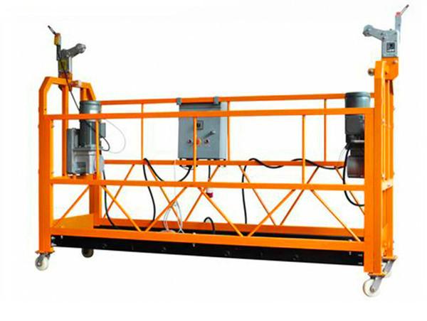 Potvrđena Aluminijska ovjesna radna platforma ZLP1000 Motorna snaga 2.2kw