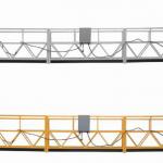 3 fazna konopska platforma s vrućim pocinčanim 7,5 m zlp800a za zidnu boju