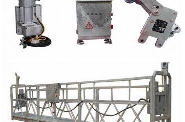 prilagođena pomična sigurnosna platforma za čišćenje prozora, zlp500 1.5kw 6.3kn jeku