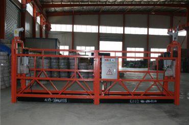 zlp1000 8 - 10 m / min sigurna suspendirana platforma za gradnju i održavanje zgrada