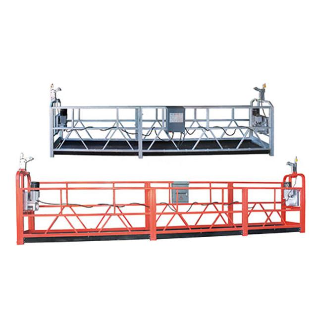 Prostor za čišćenje prozora s visokom razinom održavanja Suspendirana radna platforma ZLP630