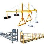vruća uspješnost prodaje suspendirana čelična bolna pristupna platforma zlp630, zlp800, zlp1000