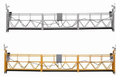 vruća prodaja aluminijskih legura suspendirana platforma / suspendirana gondola / suspendirana kolijevka / suspendirana pozornica s oblikom e