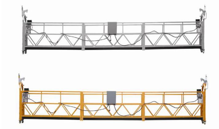 Vruća prodaja Alumimum legure suspendirana platforma / suspendirana gondola / suspendirana kolijevka / suspendirana pozadina s oblikom E