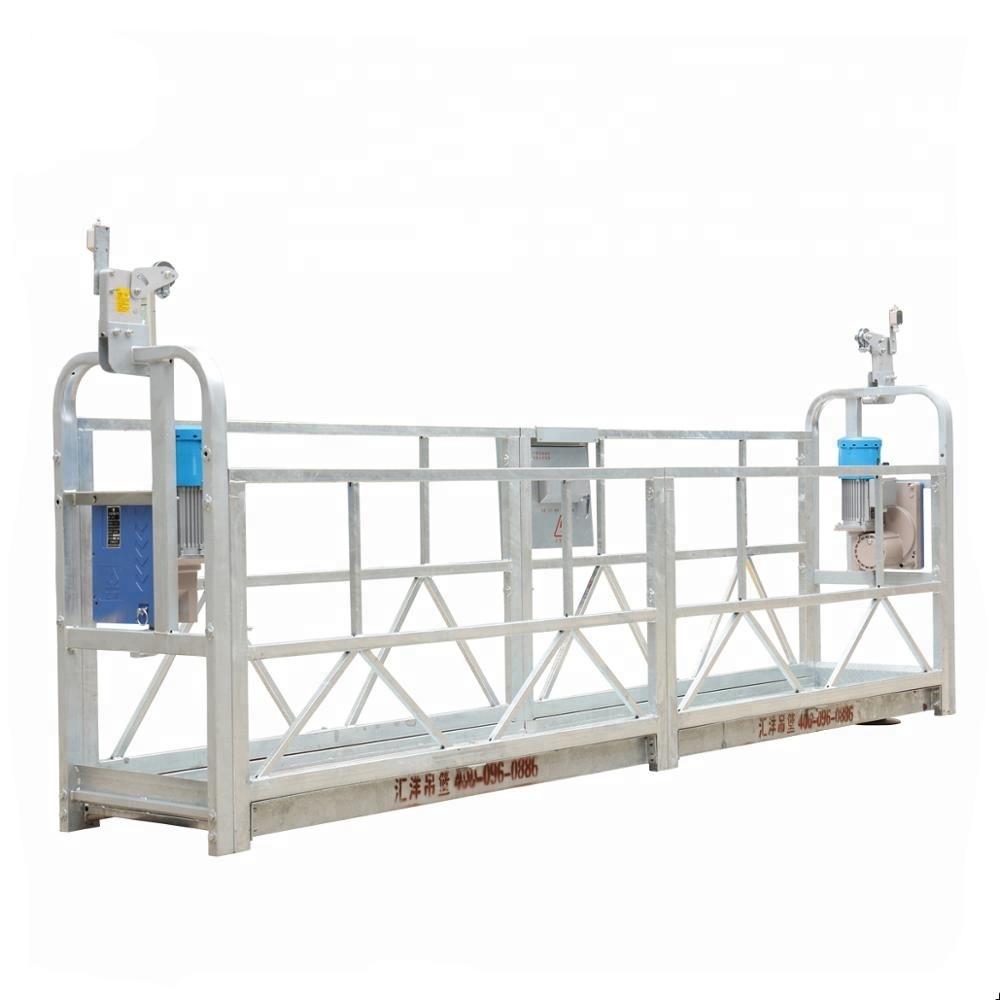 10m 800kg Suspendirani sustavi skela Aluminijska legura visine dizanja 300 m
