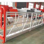 2 odjeljka 500kg obložena radna platforma s 3 tipa protuuteg