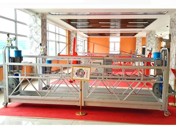 ZLP630 aluminijska suspenzija platforma (CE ISO GOST) / visokouzlazni prozor za čišćenje opreme / privremena gondola / kolijevka / ljuljačka pozornica vruće