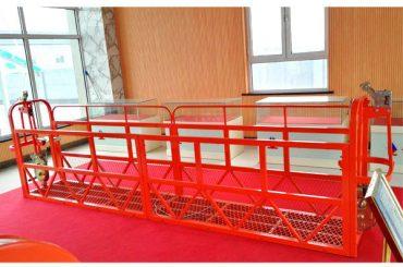 čelične suspendirane pristupne platforme 7.5m 1.8kw 800kg održavanje zgrade