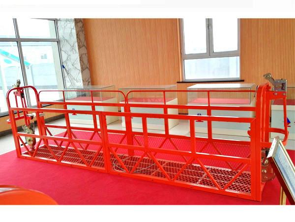Čelične suspenzije Pristup platformama 7.5m 1.8kw 800kg održavanje zgrade
