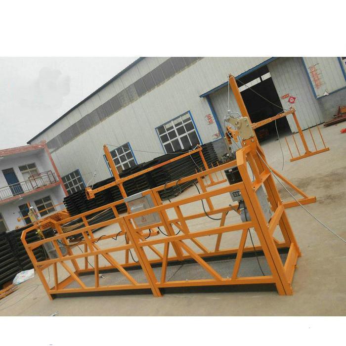 Pouzdana ZLP630 Slikarstvo Čelična suspendirana radna platforma za gradnju građevinskih objekata (2)