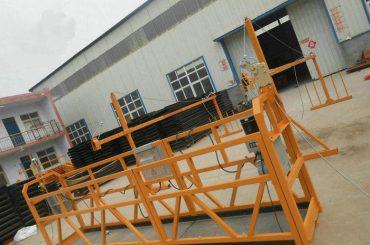 pouzdana zlp630 slikarska čelična obložena radna platforma za gradnju