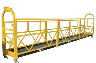 prilagodljivi zlp1000 ležajevi za održavanje platforme s podignutim platformama s čeličnim užetom 8,6 mm