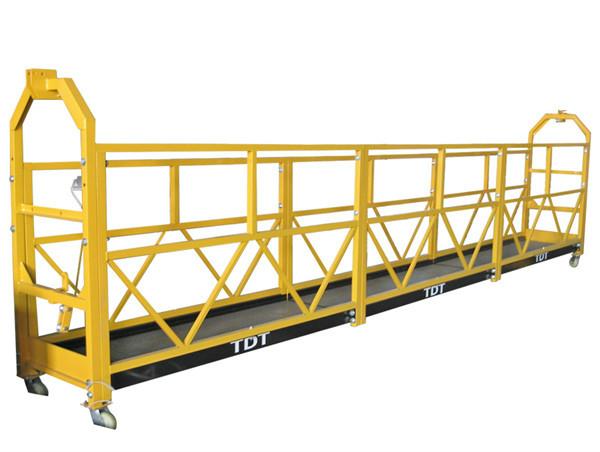 Čelik / vruće pocinčane / aluminijske legure konopska suspendirana platforma 1.5KW 380V 50HZ