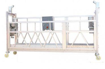 380v / 220v / 415v platforma za čišćenje prozora visoke učinkovitosti zlp800 jednostruka faza
