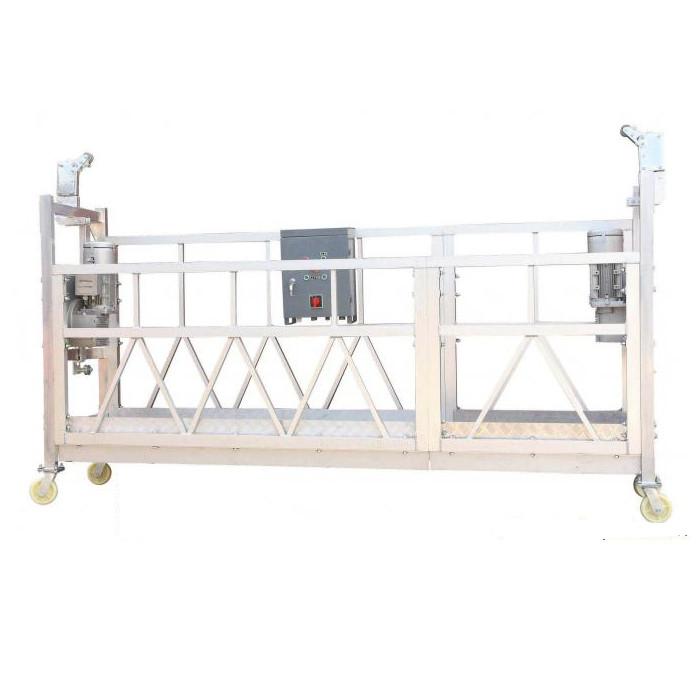 Čelično oslikano vruće pocinčani aluminij ZLP630 Suspendirana radna platforma za gradnju fasadne slikarstva