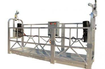 ce / iso-odobren zlp električna konstrukcija / zgrada / vanjska zidna suspenzija platforma / kolijevka / gondola / ljuljačka / sky climbe