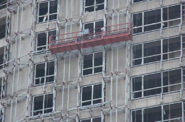 zlp serije ovješena radna platforma lako savijanje aluminijske legure električne