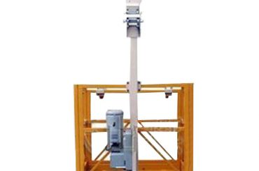 250 kg jednokrevetna, suspendirana radna platforma l strirrup s ltd6.3 remenom