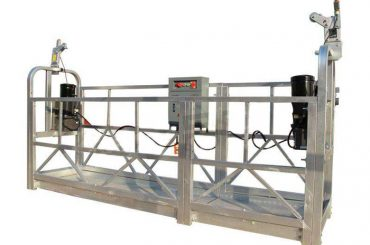 obložena radna platforma od aluminija / gondola / skela zlp 630