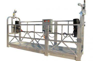 zlp serija vruće pocinčane / aluminijske suspendirane platforme za podnožje zidova visokog zida, čišćenje stakla