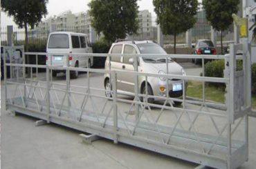 2.5mx 3 sekcije radne platforme skele 800kg aluminija s sigurnosnom bravom 30kn