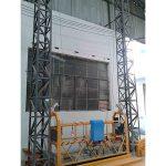 10m potisnuta aluminijska konopska platforma zlp1000 jedna faza 2 * 2.2kw
