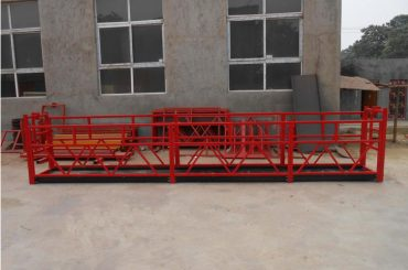 visokogradnja snažne obješene radne platforme zlp500 2m * 2 1.5kw 6.3kn