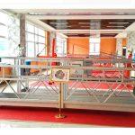 zlp630 aluminijska suspendirana platforma (ce iso gost) / visokouzlazni prozor za čišćenje opreme / privremena gondola / kolijevka / ljuljačka pozornica vruće
