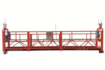 čelik / vruća pocinčana privremena suspendirana platforma, zlp500 održavanje ležišta