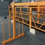 jednostupanjska suspendirana žičana platforma 800 kg 1,8 kw, brzina dizanja 8 -10 m / min